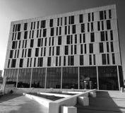 Bâtiment de la Science à Newcastle au crépuscule Photo libre de droits
