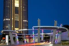 Bâtiment de la ville haute de station à Dallas photos stock
