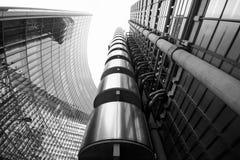 Bâtiment de Lloyds, Londres Images libres de droits