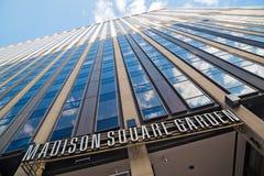 Bâtiment de Madison Square Garden images stock