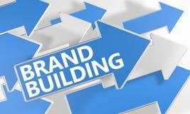 Bâtiment de marque Images libres de droits