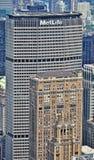Bâtiment de MetLife à New York Images libres de droits