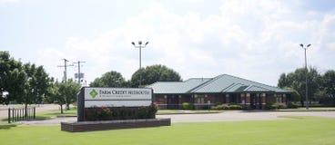 Bâtiment de Midsouth de crédit de ferme, Marion, Arkansas Image libre de droits
