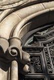 Bâtiment de modernisme à Barcelone photos libres de droits