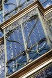 Bâtiment de modernisme à Barcelone images stock