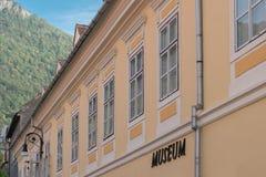 Bâtiment de musée Image stock