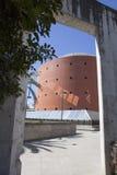 Bâtiment de musée de MEIAC Images stock