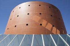 Bâtiment de musée de MEIAC Photos stock