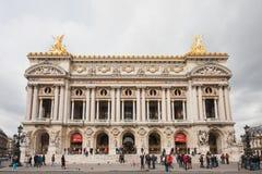 Bâtiment de Palais Garnier de l'opéra De Paris photo libre de droits