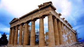 Bâtiment de parthenon sur l'Acropole athènes La Grèce photo stock