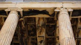 Bâtiment de parthenon sur l'Acropole athènes La Grèce image libre de droits