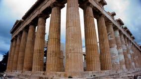 Bâtiment de parthenon sur l'Acropole athènes La Grèce image stock