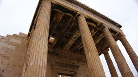 Bâtiment de parthenon sur l'Acropole athènes La Grèce images stock