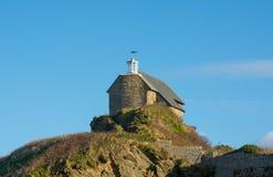 Bâtiment de phare et de garde-côte, Ilfracombe, Devon images libres de droits