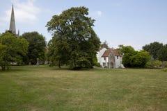 Bâtiment de réfectoire d'église Photo libre de droits