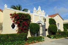 Bâtiment de résidence historique, Palm Beach, la Floride photos libres de droits