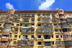 Bâtiment de résidence de Macao et paysage urbain, Macao, Chine photographie stock libre de droits