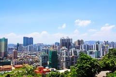 Bâtiment de résidence de Macao et paysage urbain, Macao, Chine photo stock