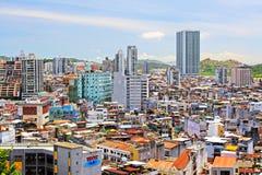 Bâtiment de résidence de Macao et paysage urbain, Macao, Chine photos libres de droits