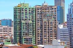 Bâtiment de résidence de Macao et paysage urbain, Macao, Chine photo libre de droits