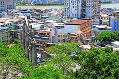 Bâtiment de résidence de Macao et paysage urbain, Macao, Chine images stock