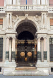 Bâtiment de RAS à Trieste Photos stock