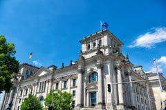 Bâtiment de Reichstag, siège du Parlement allemand Image stock
