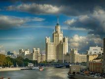 Bâtiment de remblai de Kotelnicheskaya photo libre de droits
