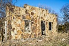 Bâtiment de roche de Route 66, Missouri Photos libres de droits