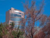Bâtiment de Santiago image libre de droits