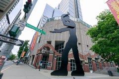 Bâtiment de Seattle Art Museum à Seattle, WA C'est le bâtiment principal de musée situé sur la première rue à Seattle du centre photos libres de droits
