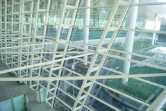 Bâtiment de Shenzhen Baoan International Airport, en Chine Photos libres de droits