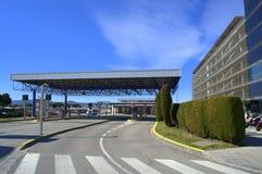 Bâtiment de stationnement d'aéroport de Barcelone Photos libres de droits