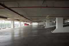 Bâtiment de stationnement de parc de Suandok photographie stock