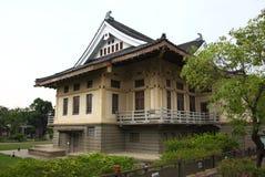 Bâtiment de style de Tainan Japon Image libre de droits