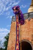 Bâtiment de style occidental de Yunnan Dali Dragon City Photographie stock libre de droits