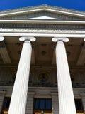 Bâtiment de style romain Photos libres de droits