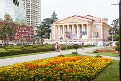 Bâtiment de théâtre de drame de Batumi Images libres de droits
