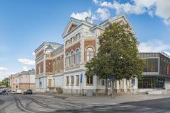 Bâtiment de théâtre de Varbergs Photos libres de droits