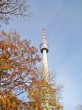 Bâtiment de tour de TV à Stuttgart Images libres de droits