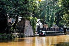 Bâtiment de Tudor chez Worsley, Manchester photographie stock libre de droits