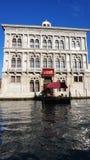 Bâtiment de Venezia de Di de casino sur Grand Canal à Venise photo stock