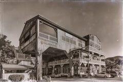 Bâtiment de vieille ville Temecula Photos libres de droits