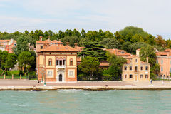Bâtiment de Villino Canonica Images libres de droits