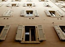 Bâtiment de vintage dans Trento Images libres de droits