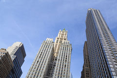 Bâtiment de Woolworth à New York Images stock