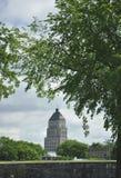 Bâtiment des prix d'édifice de vieux Québec dans le Canada photographie stock