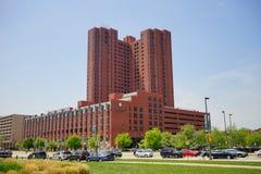 Bâtiment du centre de Baltimore images stock