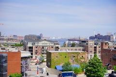 Bâtiment du centre de Baltimore photos stock