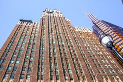 Bâtiment du centre de gratte-ciel de Baltimore images stock